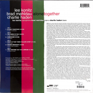 Back View : Lee Konitz - ALONE TOGETHER (2LP) - Blue Note / 0822901