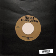 Back View : Ikebe Shakedown - SAKONSA / GREEN AND BLACK (7INCH) - Ubiquity / UR7388