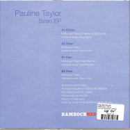 Back View : Pauline Taylor - SIREN EP (7 INCH) - Ramrock Red Records / RRR008