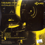 Back View : Takaaki Itoh - MUTUAL RECOGNITION - KR3 / KR3002