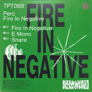 Back View : Perc - FIRE IN NEGATIVE (CLEAR VINYL) - Perc Trax / TPT089