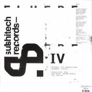 Back View : A1 People / Kosmogonik / Silicon Scally / Matt Chester / Cim - YOSSI AMOYAL PRESENTS FLUERE IV - Sushitech / SUSH 54
