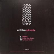 Back View : Erol Alkan - AUTOMATIC (INC PALMS TRAX / LA PRIEST REMIXES) - Phantasy Sound / PH100