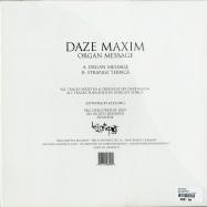 Back View : Daze Maxim - ORGAN MESSAGE - Hello? Repeat Records / Hello014
