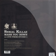 Back View : Serial Killaz feat. Cornell Campbell - MASH YOU DOWN / LIVE FROM STUDIO ONE - Ganja Records / rpg032