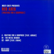 Back View : Red Axes - WAITING FOR A SURPRISE - Multi Culti / MC016