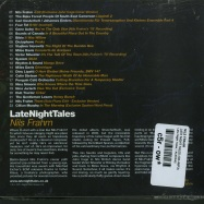 Back View : Nils Frahm - LATE NIGHT TALES (CD+MP3) - Late Night Tales / ALNCD42