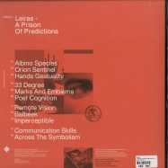Back View : Leiras - A PRISON OF PREDICTIONS (2X12 LP) - Ownlife / OWN011