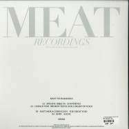 Back View : V/A (Specific Objects, Gerald VDH, Matt Mor & Chris Klein, BORT) - MEAT YOUR MAKER #2 - MEAT RECORDINGS / MR008