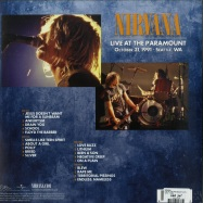 Back View : Nirvana - LIVE AT THE PARAMOUNT (2LP) - Geffen / 7732941