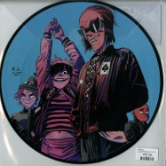 Back View : Gorillaz - THE NOW NOW (PICTURE LP) - Parlophone / 019029556528