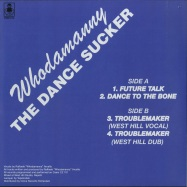 Back View : Whodamanny - THE DANCE SUCKER - Periodica / PRD1014