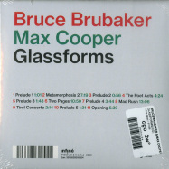 Back View : Bruce Brubaker & Max Cooper - GLASSFORMS (CD) - Infine Music / IF1059
