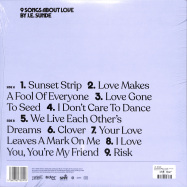 Back View : J.E. Sunde - 9 SONGS ABOUT LOVE (LP + CD) - Because Music / BEC5676241