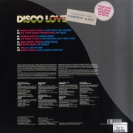 Back View : Various Artists - DISCO LOVE (RARE DISCO MIXED BY AL KENT) (2X12 INCH LP) - BBE / BBE144CLP