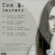 Back View : Tom B. - SECRETS (LEXER, OSCAR OZZ, GLANZ & LEDWA RMX) - Damm Records / Damm031