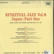 Back View : Various Artists - SPIRITUAL JAZZ VOL.8: JAPAN, PT.1 (2LP) - Jazzman / JMANLP096