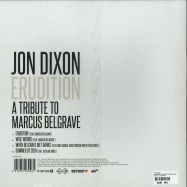 Back View : Jon Dixon - ERUDITION: A TRIBUTE TO MARCUS BELGRAVE - Planet E / PLE65392-6