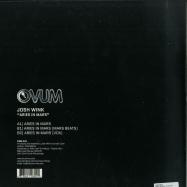 Back View : Josh Wink - ARIES IN MARS (OVUM 300!) - Ovum / OVM300