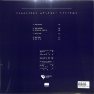 Back View : Planetary Assault Systems - STRAIGHT SHOOTING (2x12INCH TRANSPARENT VINYL) - MOTE EVOLVER / MOTE055
