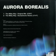 Back View : Aurora Borealis - THE MILKY WAY (HUMANTRONIC REMIX) - Electronic Griot / EGBS 03 / EGBSV1