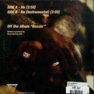 Back View : Devin Morrison - NO (7 INCH) - NBN Records / NBN7005
