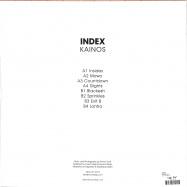 Back View : Index - KAINOS (LTD GREEN LP) - Ideal / IDEAL197