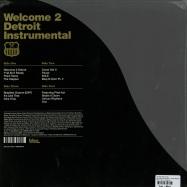 Back View : Jay Dee Aka J Dilla - WELCOME TO DETROIT - INSTRUMENTAL (2X12) - BBE Records / bbebglpi001