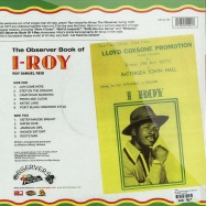 THE OBSERVER BOOK OF I ROY (LP)