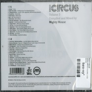 Back View : Mighty Mouse - DISCO CIRCUS VOLUME 3 (2CD) - Bears Eat Fish / BEF006