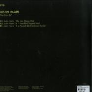 Back View : Justin Harris - THE LION EP (BRETT JOHNSON REMIX) (VINYL ONLY) - Oblack Label / OBLACK016