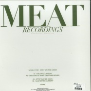 Back View : Gerald VDH - OTTO WAGNER GREEN (INCL. MATT MOR RMX) - MEAT RECORDINGS / MR009
