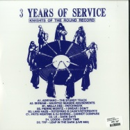 Back View : Various Artists - 3 YEARS OF SERVICE (2LP) - Shall Not Fade / SNFLP001