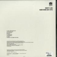 Back View : Monty Luke - HARD WORK NOT HYPE (2LP) - Dogmatik / DOG1218