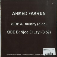 Back View : Ahmed Fakrun - AUIDNY / NJOO EL LEYL (7INCH) - Groovin Records / GR1252