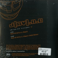Back View : J(ay).A.D - SWINGING FLAVORS (ORANGE 7 INCH) - Beat Machine Records / BMRSF008