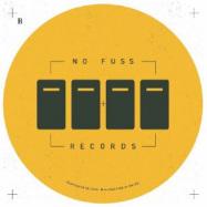 Back View : Crispin Glover / Dean Zepherin - NFRV 002 (140 G VINYL) - No Fuss / NFRV 002