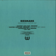 Back View : Biesmans - ELECTRIC LOVE EP (MARVIN & GUY MIX) - Watergate Records / WGVINYL68