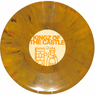 Back View : Unknown - OPUS III / KINGZ OF THE CASTLE (ORANGE MARBLED VINYL) - Vibez 93 / NAUGHTY93001