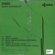 Back View : Zadig - SILENT WARRIOR - KR3 / KR3004