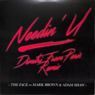 Back View : The Face vs Mark Brown & Adam Shaw - NEEDIN U (DIMITRI FROM PARIS REMIX)(RED COLOURED VINYL) - CR2 Records / DFPCR2