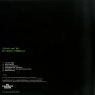 Back View : Jori Hulkkonen - DONT BELIEVE IN HAPPINESS (EP + ALBUM-MP3) - My Favorite Robot Records / MFR163V