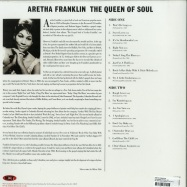 Back View : Aretha Franklin - THE QUEEN OF SOUL (LP) - Not Now Music / CATLP145