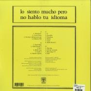 Back View : Max Graef - LO SIENTO MUCHO PERO NO HABLO TU IDIOMA (2X12 LP) - Tartelet Records / TARTALB009 / 169771