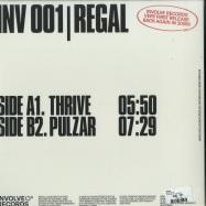 Back View : Regal - INVOLVE 01 - Involve Records / INV001RP