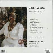 Back View : Jimetta Rose - THE LIGHT BEARER (LP) - Temporary Whatever / TW006