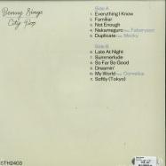 Back View : Benny Sings - CITY POP (LP) - Stones Throw / STH2403 / 39146541