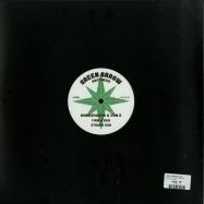 Back View : Von D & Moresounds - FIRM & STRONG (10 INCH) - Green Arrow / GA03