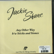 Back View : Jackie Shane - ANY OTHER WAY / STICKS AND STONES (7 INCH) - Numero Group / ES070