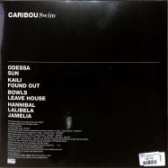 Back View : Caribou - SWIM (LTD MARBLED ORANGE/RED 2LP) - City Slang / SLANG50275X